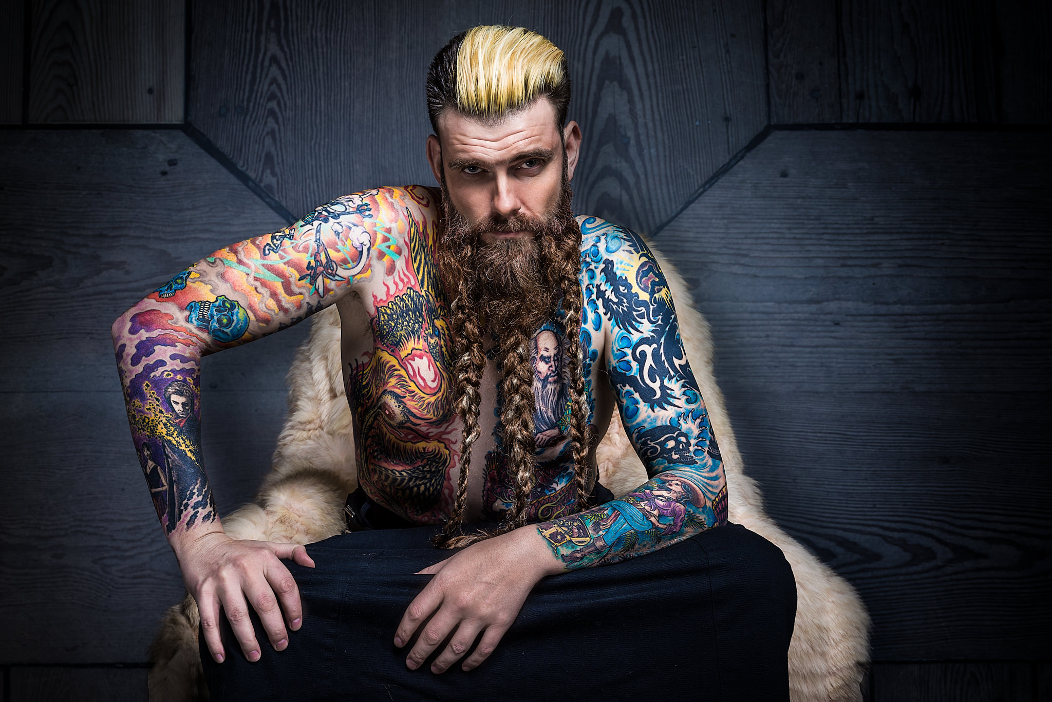 Tattoomodels Photographer Sedcard Of Ben Peter From Germany